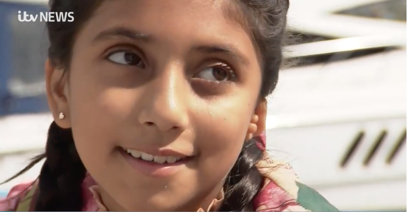 ITV: Girl, 10, set to be first person in the UK to receive 3D-printed ear